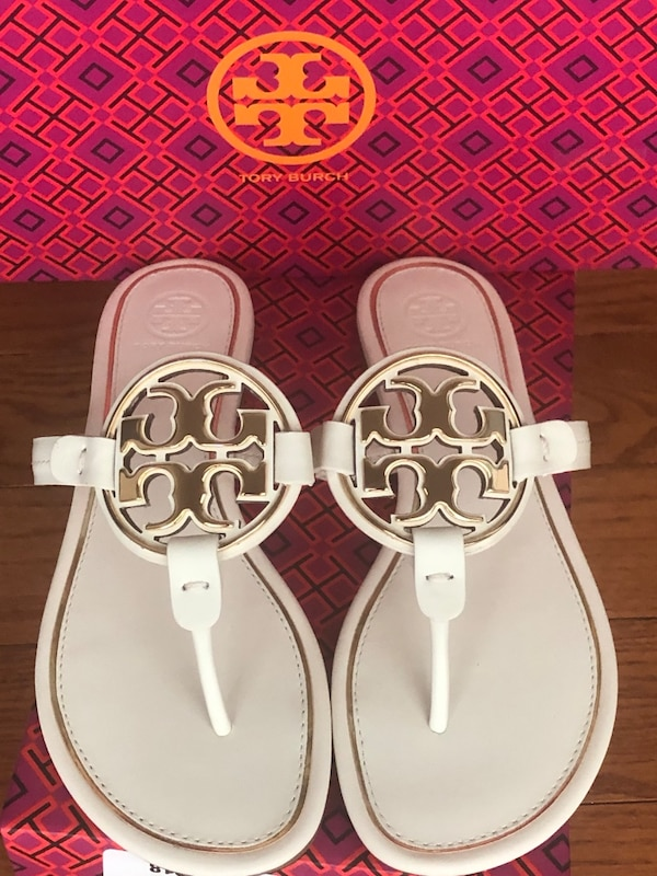 Brand New Tory Burch Miller Sandals S: 8