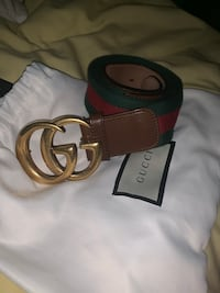 Real authentic Gucci belt size 29-31 Toronto, M1B 3G7