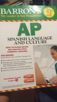 Barron's AP Spanish Language and Culture 9th Edition Anaheim, 92805