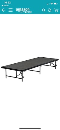 2 Portable Stages for DJ or Events