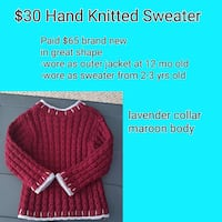 Hand Knitted Sweater Martinsburg, 25405