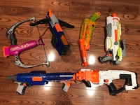 Nerf Toy Bundle (6 total) Pickering, L1V 4X8