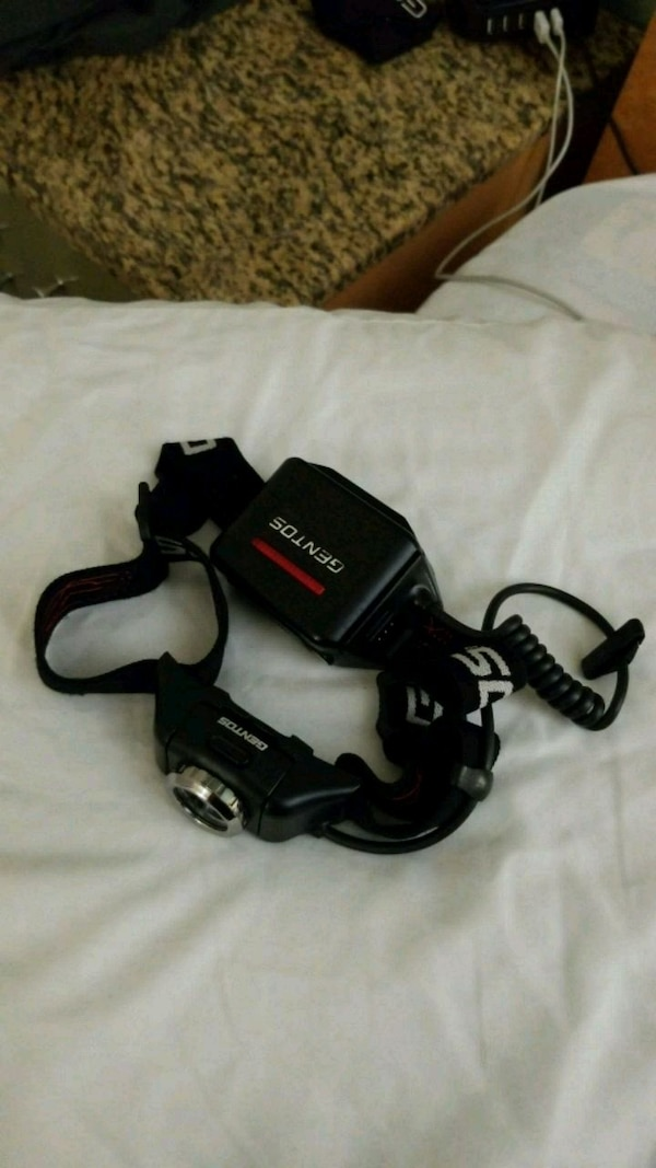 GENTOS - 300 lumen headlamp - model#GH-001RG