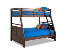 Chadwick full/twin bunk bed frame Temple Hills
