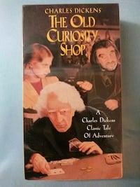 The Old Curiosity Shop vhs Baltimore
