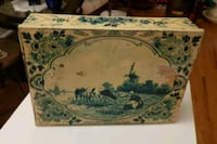 Antique candy tin box from Holland  Gettysburg, 17325