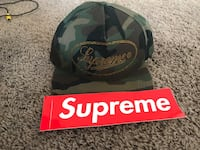 Supreme camo studded SnapBack  Spring Valley, 91977