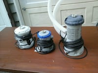 Variety of pool pumps for sale 6 in total ra North Saanich, V8L 3Z5
