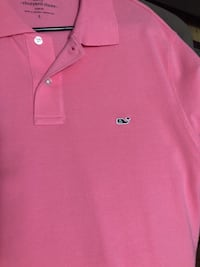 Pink Vineyard Vines Polo
