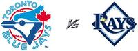 Blue Jays vs. Rays – Sept 3….200's, Row 1, Aisle Toronto