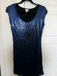 Blue sequins dress Calgary, T3N 0E4