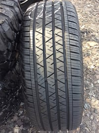 One continental tire 245/55/r19  Installed and Mounted  60$