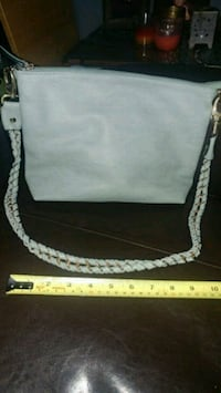 New light turquoise purse golden hardware Montreal, H8T