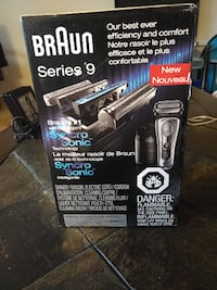 NEW Braun Series 9 9095cc Wet and Dry Electric Shaver
