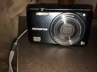 fotocamera Olympus point-and-shoot nera