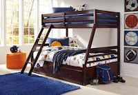 Twin full bunk bed with under bed storage  Massapequa, 11758