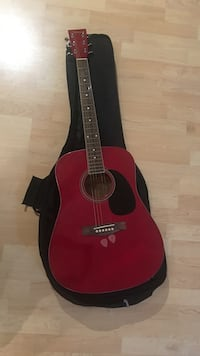 red and black acoustic guitar Virginia Beach, 23464