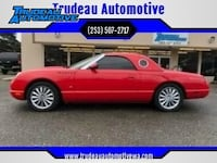 2003 Ford Thunderbird Premium 2dr Convertible w/ Removable Top Tacoma, 98499