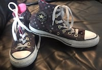 Two Pairs of Kids Converse Shoes Vancouver, V5L 1W6
