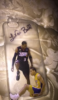 Signed LaVar Ball Phone Case Fairfax, 22032