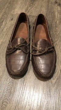 COLE HANN Brown Leather Loafer Dallas, 75240