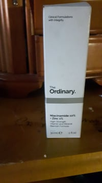 the ordinary niacinamide 10% zinc 1%