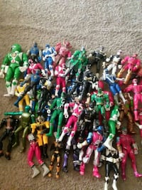 Mix lot Power Rangers Silver Spring, 20906