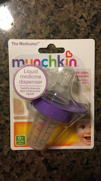 The Medicator Munchkin pacifier in box Blainville, J7B