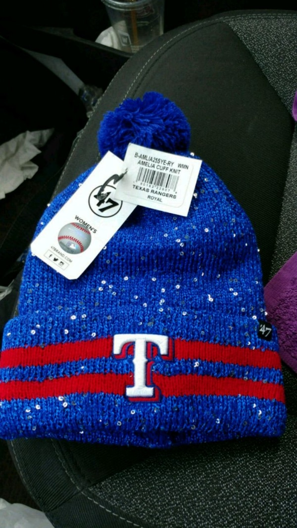 ace902e17ed Used Women s 47  brand texas rangers winter beanie for sale in ...