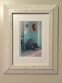"Custom framed matted picture. Southwest vibe. Excellent condition. Ready to hang. 15"" h x 11.5"" w Simsbury, 06070"
