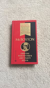 Mr. Boston official Bartender's and Party Guide Herndon, 20170