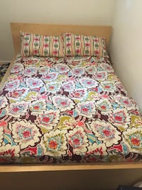 red and white floral bed sheet set Silver Spring, 20904