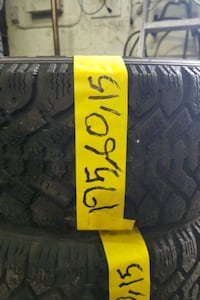 195 / 60 / 15 4pc winter tire with installation 240$ Toronto, M3J 2B9