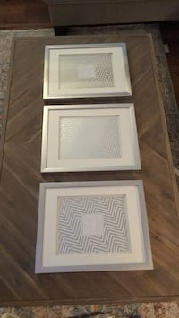 Silver Picture Frames x3 Langley, V3A 2R6
