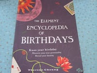 The Element Encyclopedia of Birthdays Book by Theresa Cheung  Winnipeg
