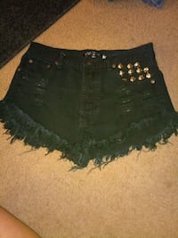 Black high wasted shorts  Russellville, 72801