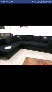 New black sectional  Austin, 78726