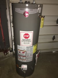 3 month old, rheem tall boy, gas hot water tank , no issues