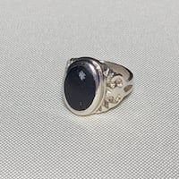 Vintage Sterling Silver Black Onyx Ring Ashburn, 20147