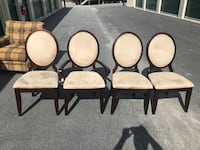 4 Oval Backed Dining Chairs Holly Springs, 27540
