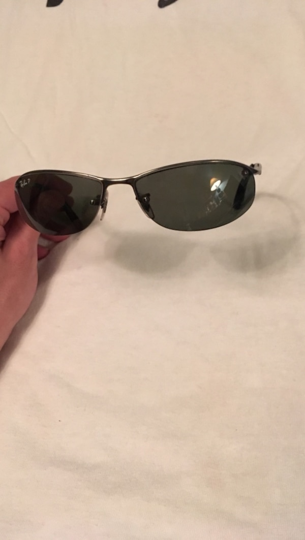 4c758b5c41f Used Ray-Ban RB3179 top bar  PHONE NUMBER HIDDEN  P polarized sun glasses  for sale in Hickory - letgo