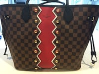 Louis Vuitton Rare Neverfull MM Karakoram Bag, new with box 893 mi