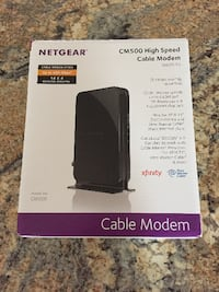 NETGEAR Cable Modem CM500 - Compatible with all Cable Providers