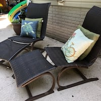 Outdoor lounge chairs from Costco Gainesville, 20155