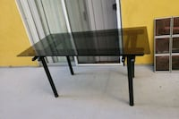 black and brown wooden TV stand Los Angeles, 90046