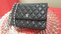 quilted black Chanel leather crossbody bag Winnipeg, R3B 2G3