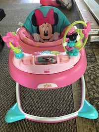 Baby's pink and white minnie mouse walker Nazareth, 18064