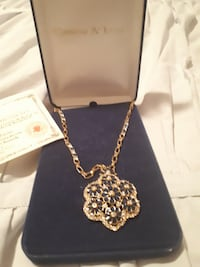 Camrose and Kross Jacqueline Kennedy brooch necklace TORONTO