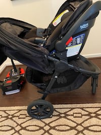 Britax infant carseat and stroller set