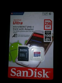SanDisk Ultra micro SD card with adapter Paterson, 07503